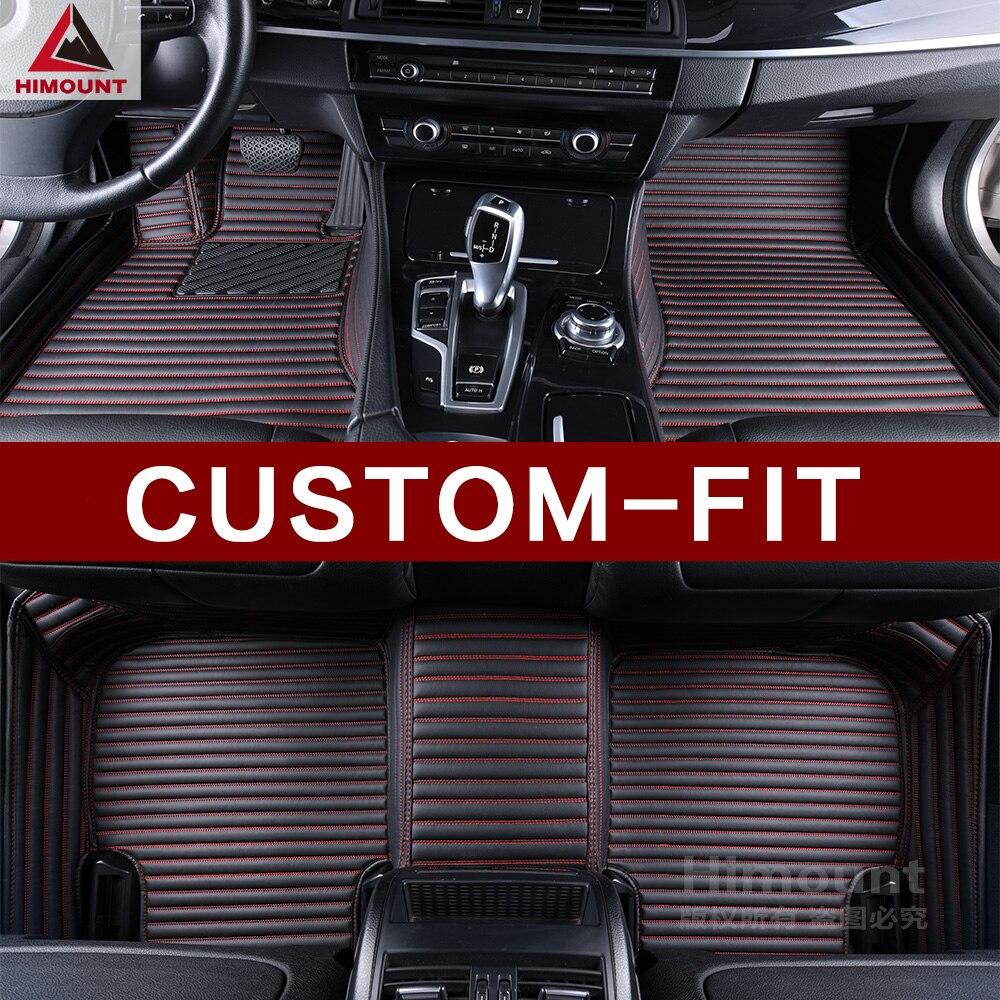 Tapis de sol de voiture sur mesure pour Porsche Panamera Executive long 970 971 Turbo S Cayenne 955 957 958 Macan tapis de luxe de haute qualité