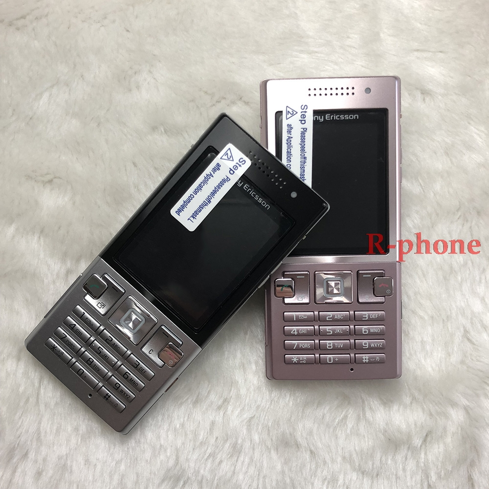 Free Shipping Sony Ericsson Original T700 Mobile Cell Phone 3G Bluetooth 3.15MP MP3 Games One Year Warranty feature phone