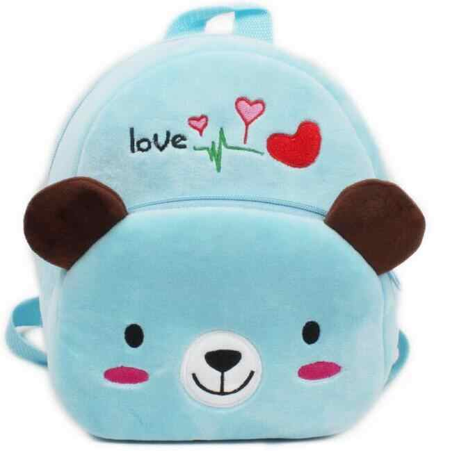 8494306b7920 ... Cartoon Kids Plush Backpacks Baby Toy Schoolbag Student Kindergarten  Backpack Cute Children School Bags For Girls ...