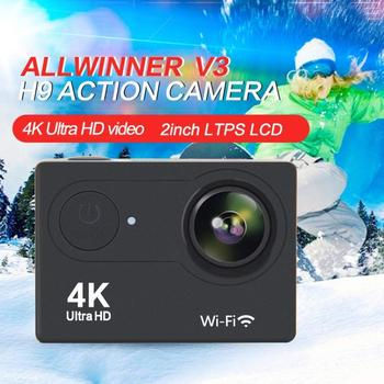 Digital Sport Video Camera WIFI 4K Ultra HD 1080P Waterproof Action Sport Mini Camcorder Outdoor Video Recorder Kamera 170D DVR image