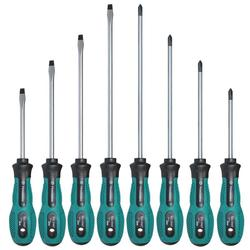Geïsoleerde Pp Handvat Hand Schroevendraaier Schroevendraaier Elektricien Reparatie Tool Multi Tool Handgereedschap Ferramenta 1Pc