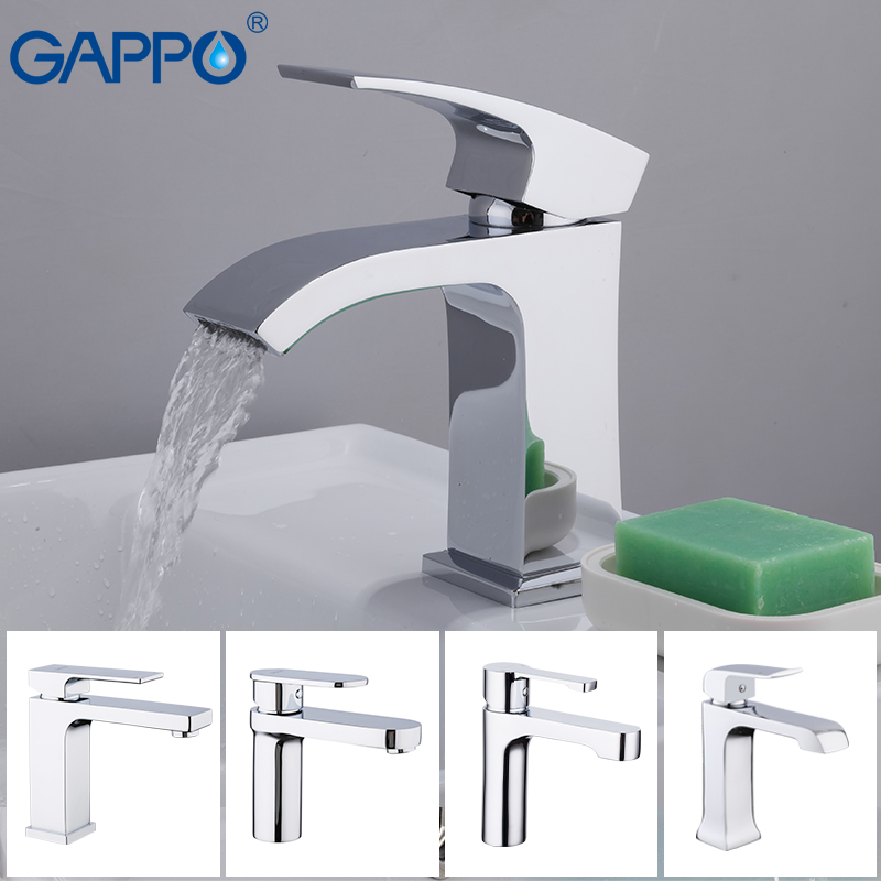 GAPPO Basin Faucet water mixer tap bathroom faucet sink basin Water Sink taps waterfall bath faucet craneGAPPO Basin Faucet water mixer tap bathroom faucet sink basin Water Sink taps waterfall bath faucet crane