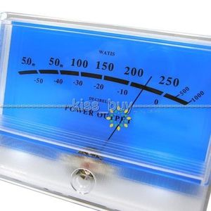 Image 5 - DYKB VU מטר פנל DB רמת כותרת אודיו מגבר כוח מחוון מד שולחן Preamp אודיו מד כוח עם LED תאורה אחורית