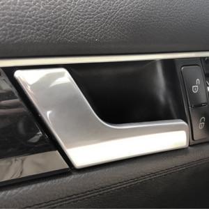 Image 3 - メルセデス · ベンツ c glk クラス W204 X204 2008   2014 電気めっき/マットクロームインテリア車のドアハンドルパネルプルカバー