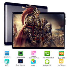 KUHENGAO New Designed IPS 10 inch 4G LTE FDD tablet pc Android 7 0 with phone