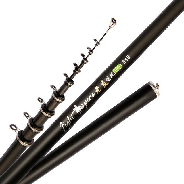 Awesome No1 Telescopic Sea Fishing Rod Ultralight hard Fishing Rods 2fa47f7c65fec19cc163b1: 2.4 m|2.7 m|3.0 m|3.6 m|4.5 m|5.4 m|6.3 m|7.2 m