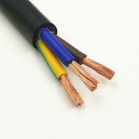 100M 4C 2C 5C 3C 18AWG 17AWG 15AWG 13AWG 11AWG 9AWG Copper cable Wire Conductor Electric PVC Cable Soft Sheathed Wire power wire