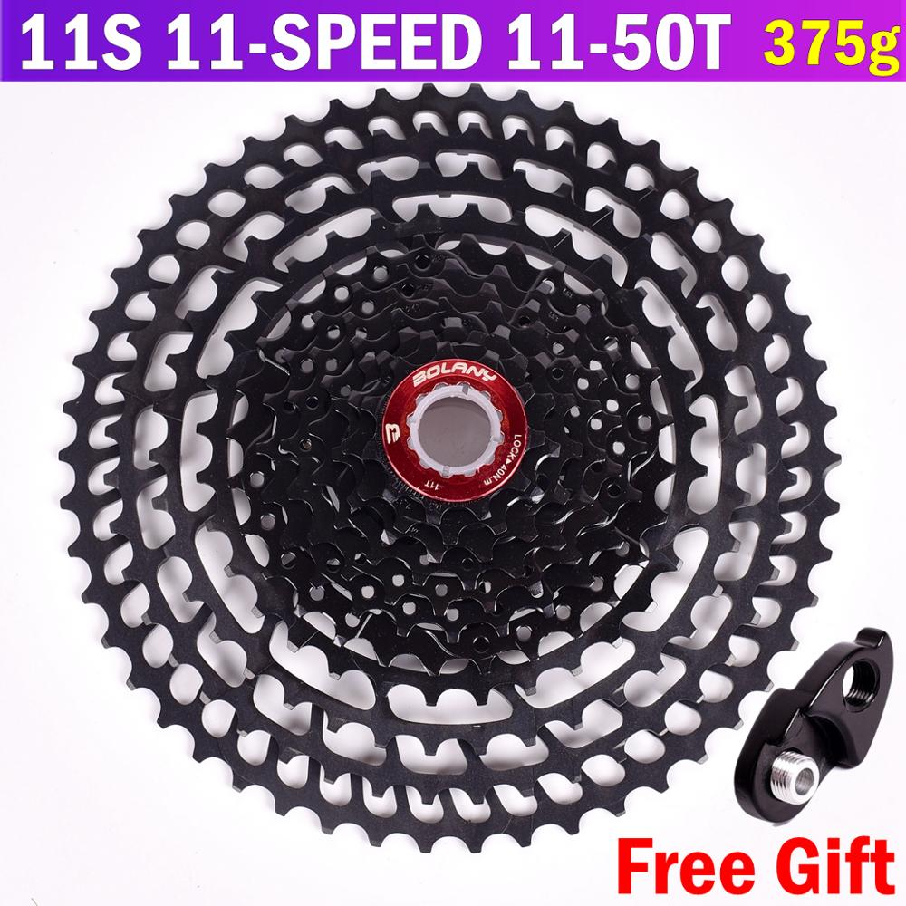 BOLANY MTB 11 speed cassette 11 50T ultra light 375g bicycle tower wheel 7075 aluminum alloy