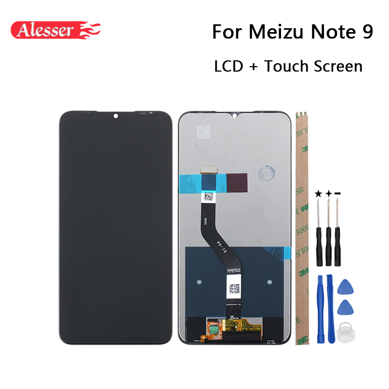 Alesser For Meizu Note 9 LCD Display and Touch Screen Assembly Repair Parts Tools Adhesive For