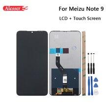 Alesser do Meizu Note 9 wyświetlacz LCD i zestaw do naprawy ekranu dotykowego części + narzędzia + klej do Meizu Note 9 akcesoria do telefonu