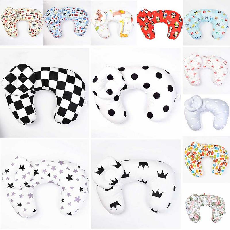 Multifunctional Baby Feeding Pillow Breastfeeding Cotton Baby Feed Pillow Newborn Supplies Learning Baby Care Shaping Pillow