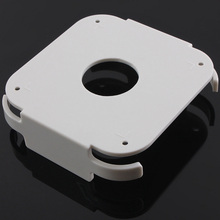 цена на Universal White Wall Mount Case Bracket Holder Behind For Apple TV 2 3 AirPort Express Series