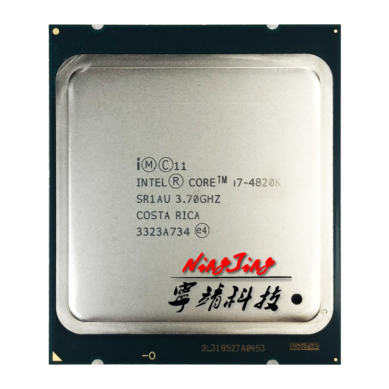 Intel CPU Processor I7 4820k Ghz 130W Quad-Core 10M Eight-Thread