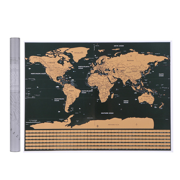 World-Map-Scratch-Off-World-Travel-Map-Poster-Copper-Foil-Personalized-Journal-Log-Small-Size-with