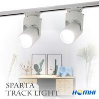 LED track light track lamp COB Rail wall spot light 10w Clothing shoes shop Store home lighting for Kitchen living room bedroom