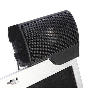 Image 4 - Altavoz Mini estéreo USB portátil, barra de sonido con Clip, para Notebook, portátil, teléfono, reproductor de música, ordenador, PC