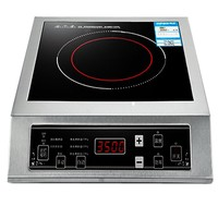 3500W Commercial Electric Induction Cooker Furnace Stainless Steel Desktop Home High power Cooking Stove Hotpot Pot Tool