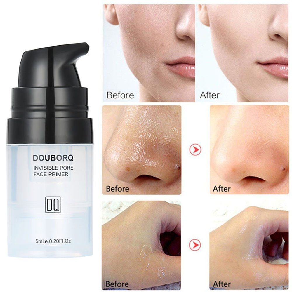 DOUBORQ Face Makeup Primer Make-up Base Gel Water Replenishing Long Lasting Smoothing Oil-control Effect Concealment Face Cream