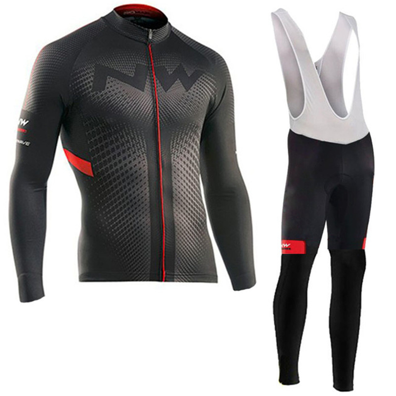 Northwave 2019 Spring and Autumn Jersey Suit Maillot Ropa Ciclismo Long Sleeve Mountain Bike Suit Breathable Bike WearNorthwave 2019 Spring and Autumn Jersey Suit Maillot Ropa Ciclismo Long Sleeve Mountain Bike Suit Breathable Bike Wear