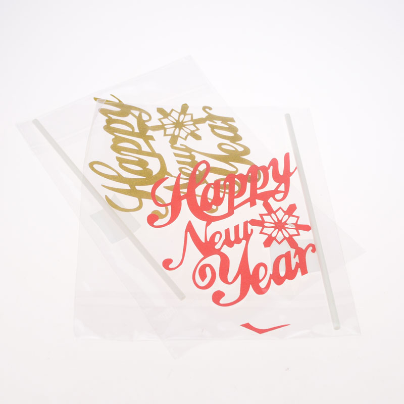 Cake Toppers Happy New Year Red Gold Birthday Love Cake Topper Cupake Flags Wedding Baby Shower DIY Decor Supplies Kids Party in Cake Decorating Supplies from Home Garden