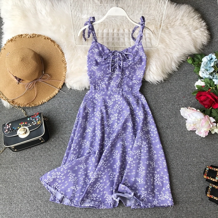 d7eb67800d ツ)_/¯ Big promotion for flower high waist dress and get free ...