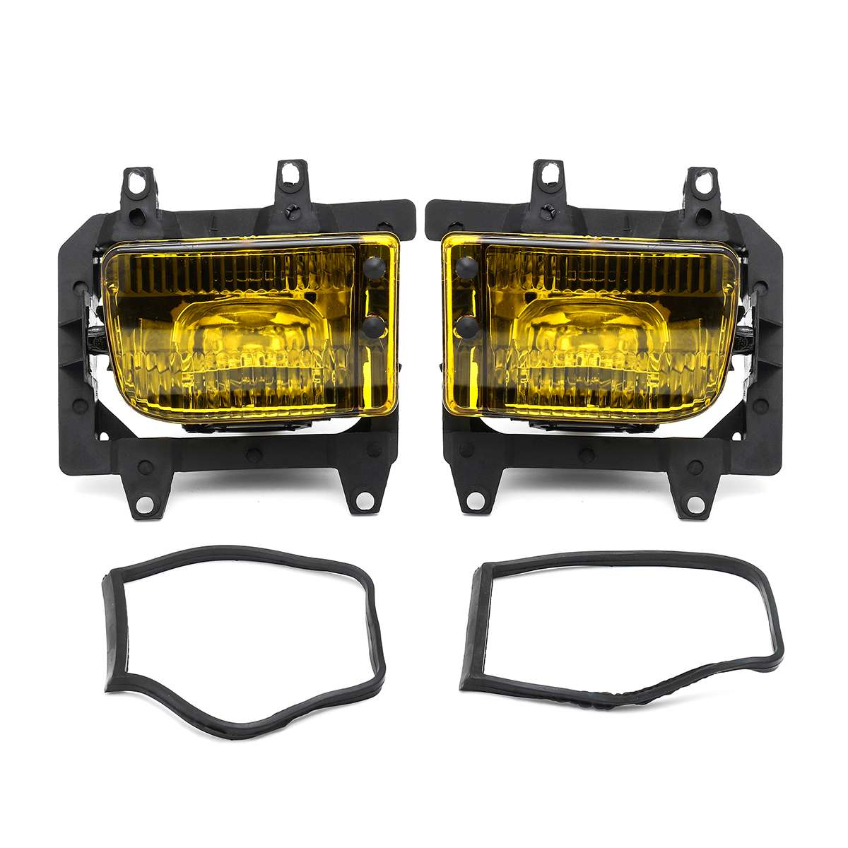 Pair Left+Right Front Fog Light Transparent Plastic Lens Kit no bulb for <font><b>BMW</b></font> <font><b>E30</b></font> 3-Series 1985-1993 Car <font><b>Accessories</b></font> Car Styling image