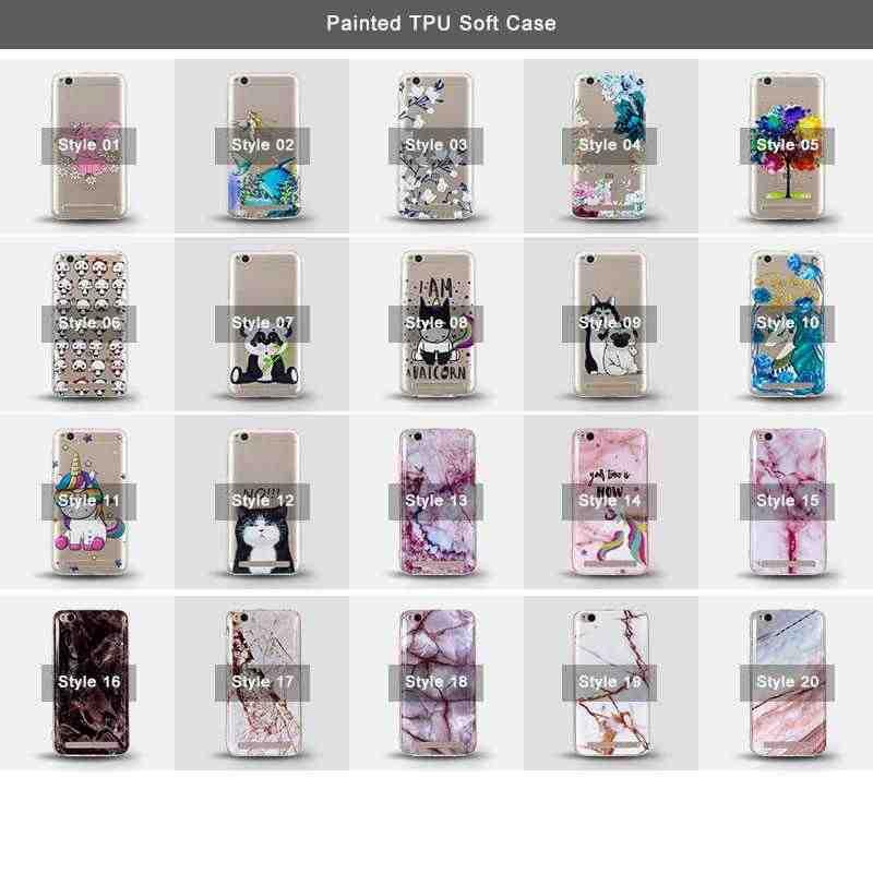 "Mokoemi Fashion Cute Pattern Soft 5.0""For Xiaomi Redmi 5A Case For Xiaomi Redmi 5A Cell Phone Case Cover"