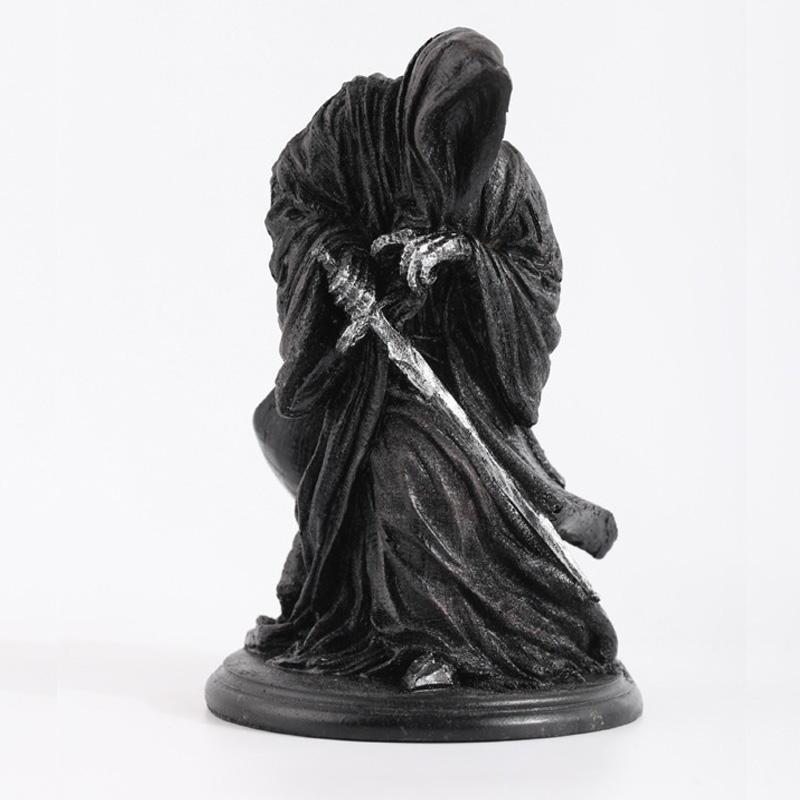 Ringwraith The Lord Of Rings Dark Knight Witch King Black Riders Statue Action Figures Toy Creative Game Model Decoration Mascot