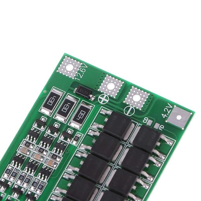 Carte Pcb de Protection de chargeur de batterie au Lithium de Li-Ion de 3S 40A 18650 Bms pour le Module de cellule de Lipo du moteur 11.1V 12.6V de foret