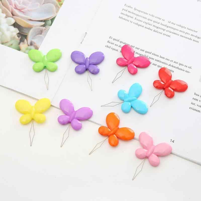 Butterfly Wire Needle Threader Cross Stitch Insertion Tool Sewing Accessory Needle Device Threader Thread Guide For Older Tool