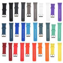 Силиконовый ремешок для часов 18-20 мм сменный прочный ремешок для часов аксессуары для часов для samsung Galaxy gear S2 SM-R720