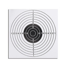 100 PCS Target Paper Paintball Target Posters Square Shooting Practice Paper Sheet 14X14CM Target Paper Bow & Arrow(China)