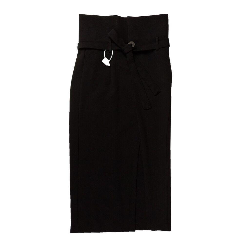 Falda Za33701 Casual Black Cuerpo piel Vestido Becerro Negro De Sueltos Nueva 2019 Mujer Moda Mediados Verano Medio Muerte Ropa UZfYwTwq