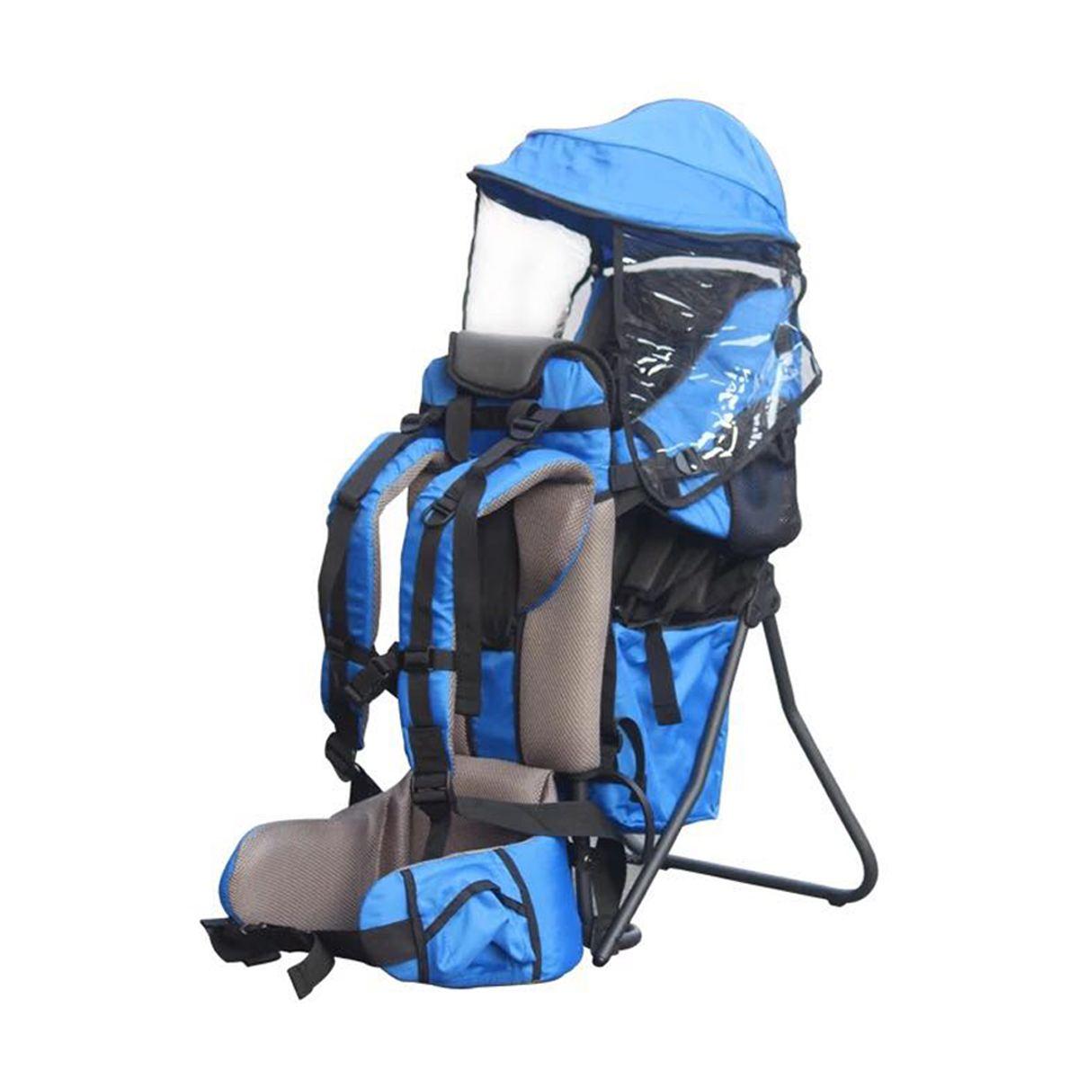 Charge 30kg réglable en plein air bébé enfant en bas âge sac à dos Camping escalade sac étanche alpinisme randonnée enfant enfant porteur - 2