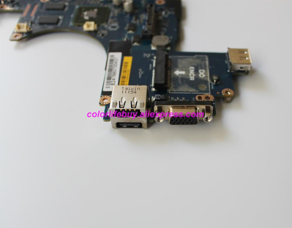 Image 5 - Genuine YH39C 0YH39C CN 0YH39C LA 5472P w N10M NS S B1 GPU Laptop Motherboard for Dell Latitude E6410 Notebook PC-in Laptop Motherboard from Computer & Office