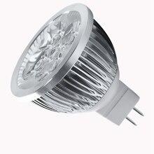 4W Dimmable MR16 LED Bulb/3200K Warm White LED Spotlight/50 Watt Equivalent Bi Pin GU5.3 Base/330 Lumen 60 Degree Beam Angle f цена