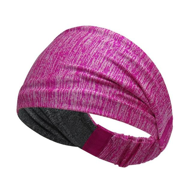 Sports Sweat Headband Sports Shirt Riding Yoga Hair Band Elastic Belt Sweat Sports Unisex Safety Turban Headwear Mountain Bike B 3