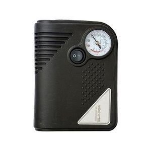Image 4 - ポータブル 12 12v dc車のタイヤインフレータミニ電動空気圧縮機ポンプ黒abs車のバイクrv suv atv