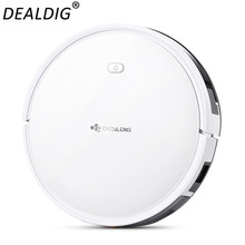 DEALDIG Robot Vacuum Cleaner Robvacuum 8 with WiFi App Remote Control for Alexa Home Low Noise Cleaning Machine clearance