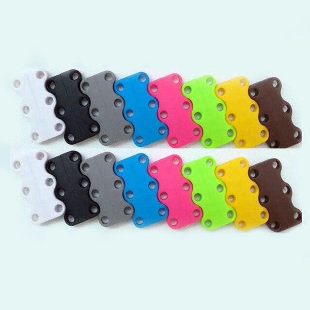 10 colores im n cordones de zapatilla hebilla sin cordones calzado deportivo cordones cierre magn tico