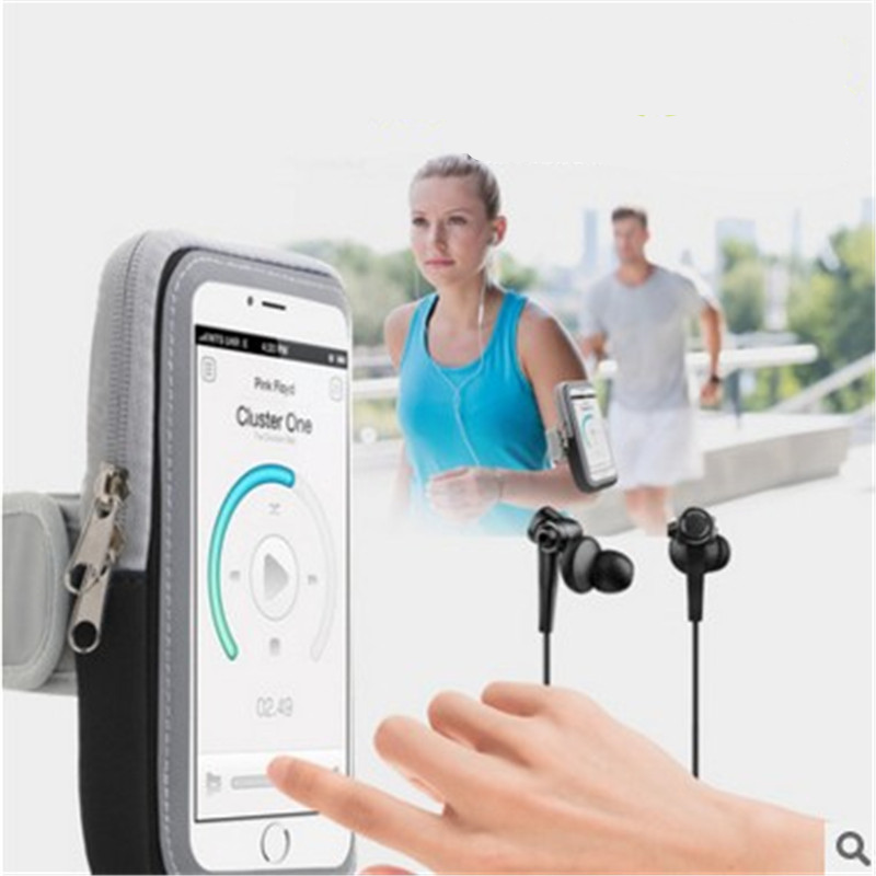 Wangcangli 6-inch Mobile Phone Arm Strap For Iphone 7 8 Plus Mobile Phone Armband For Morning Run Mobile Phone Armband Arm Bag Armbands