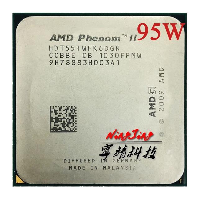 AMD Phenom II X6 1055T 1055 2.8G 95W Altı Çekirdekli CPU İşlemci HDT55TWFK6DGR Soket AM3