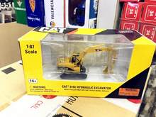 Norscot HO 1/87 Caterpillar Cat 315C koparka hydrauliczna Diecast model 55107(China)