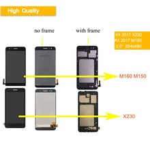 10Pcs/lot Display For LG K4 2017 LCD Touch Screen with Frame M160 M150 M151 Screen LCD Assembly Complete X230 X230DSF LCD new 12 5 inch lcd display i bm u260 k27 k29 x220 x230 lcd screen lp125wh2 ltn125at01 b125xw01