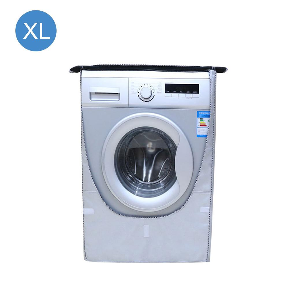 Silver Coated Oxford Cloth Automatic Roller Washing Machine Cover Waterproof Sunscreen Cover Quick DeliverySilver Coated Oxford Cloth Automatic Roller Washing Machine Cover Waterproof Sunscreen Cover Quick Delivery