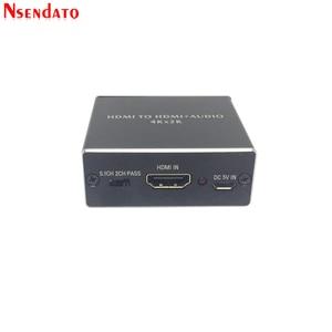 Image 3 - 4K x 2K HDMI vers HDMI + Audio 3.5mm convertisseur stéréo 5.1 canaux optique SPDIF Audio extracteur adaptateur séparateur pour PS4 HDTV STB PC