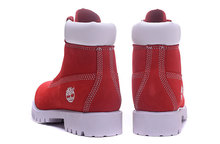Original TIMBERLAND Men's 10061 Red White Winter Boots 40-45