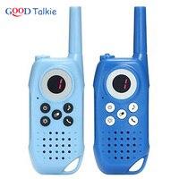מכשיר הקשר 2pcs ילדים מכשיר הקשר ילדים צעצוע רדיו דו כיווני ארוך טווח כף יד לילדים צעצוע WALKY טוקי לילדים (4)