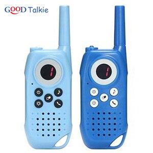 Image 4 - 2PCS מכשיר קשר לילדים ילדים צעצוע דו דרך רדיו ארוך טווח כף יד ילדים צעצוע ווקי טוקי לילדים