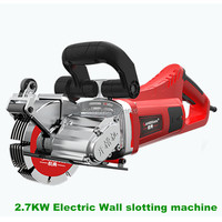 2.7KW Electric Wall slotting machine 220V Hydroelectric installation wall slotting machine Electric Wall Chaser